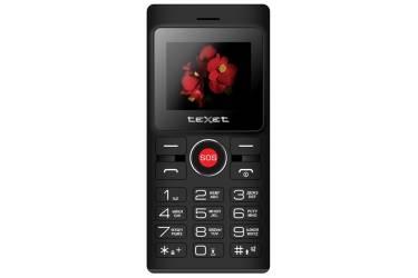 Мобильный телефон teXet TM-106 черный-красный
