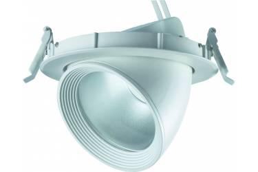 Светильник светодиодный встр потолоч Uniel ULK-M01G-30W/WW WHITE 1300 Лм теплый белый
