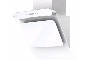 Вытяжка каминная Shindo Arktur 60 W/WG 3ETC нержавеющая сталь/белое стекло управление: сенсорное (1 мотор)