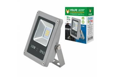 Прожектор светодиодный Volpe ULF-Q510 10W/NW SENSOR IP65 170-250B SILVER с датч движ серебр