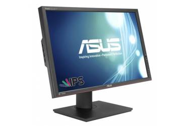 "Монитор Asus 24.1"" PA248Q черный IPS LED 16:10 DVI HDMI матовая HAS Pivot 300cd 1920x1200 D-Sub DisplayPort FHD USB 6.4кг"