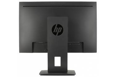 "Монитор HP 24"" Z24n Narrow Bezel черный IPS LED 14ms 16:10 DVI HDMI глянцевая HAS Pivot 300cd 178гр/178гр 1920x1200 DisplayPort FHD USB 6.8кг"