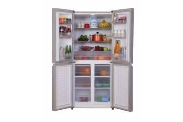 Холодильник Ascoli ACDG415 золотое стекло 4-дверный, 415л, 176*80*60см De Frost капельный
