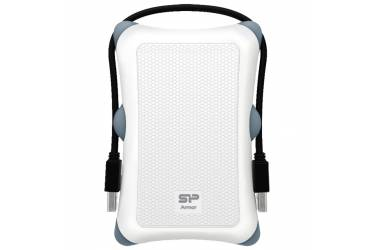 "Внешний жесткий диск 2.5"" 1Tb Silicon Power Armor A30 белый USB 3.0"