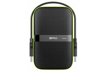 """Внешний жесткий диск 2.5"""" 2Tb Silicon Power Armor A60 черный USB 3.0"""