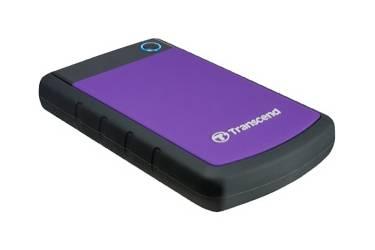 """Внешний жесткий диск 2.5"""" 500Gb Transcend StoreJet 25H3 фиолетовый USB 3.0"""