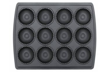Вафельница Supra WIS-555 1400Вт черный/серебристый