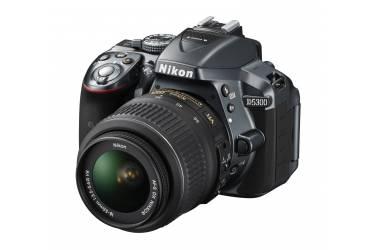 Зеркальный фотоаппарат Nikon D5300 kit 18-55VRII серый