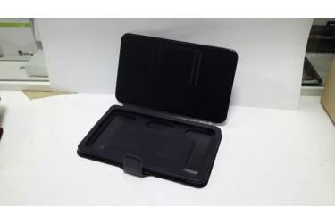 Универсальный чехол + силиконовая накладка на планшет 10 черная