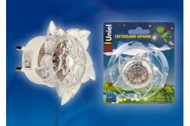 Светильник-ночник Uniel DTL-308-Цветок/RGB/4LED/0,5W