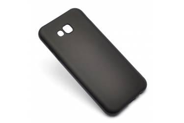 Силиконовый чехол J-CASE для Samsung SM-J330 Galaxy J3 (2017) Чёрный