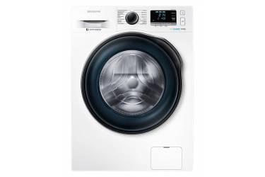 Стиральная машина Samsung WW90J6410CW (1400об; 60см; EcoBubble; 9кг; белый/графит)