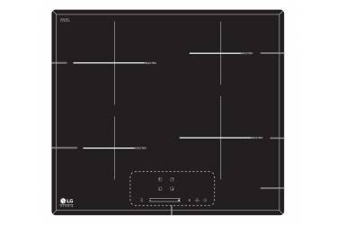 Индукционная варочная поверхность LG HU642PH черный