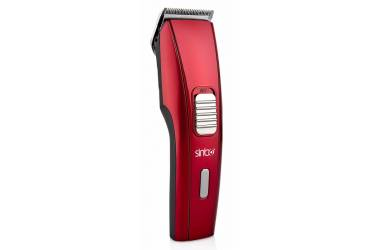 Машинка для стрижки Sinbo SHC 4371 красный 3Вт (насадок в компл:2шт)