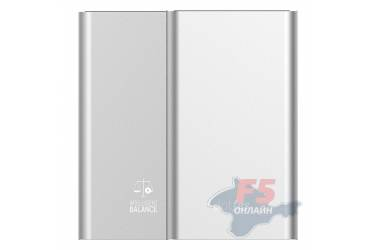 Внешний аккумулятор Dotfes D03 Aluminium Alloy 10000 mAh AutoMax, два USB выхода 2,4A / 2,4A