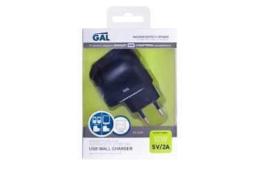 Зарядное устройство сетевое Gal USB 2А UC-2209