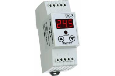 _Терморегулятор _DigiTOP_ ТК-3_ DIN-рейка _16А _ нагрев/охлаждение