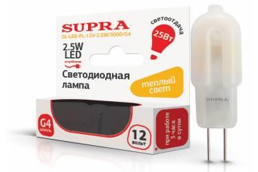 Лампа светодиодная SUPRA_G4_2.5W/3000/G4 _капсула 12V