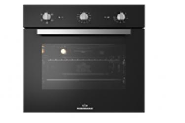 Духовой шкаф электрический RODMANS BOE 6601 BL черный 64л конвекция гриль 6режимов