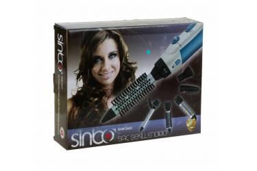 Фен-щетка Sinbo SHD 2651 1000Вт синий/белый