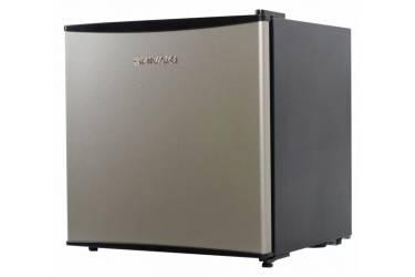 Холодильник Shivaki SHRF-54CHS серебристый/черный (однокамерный)