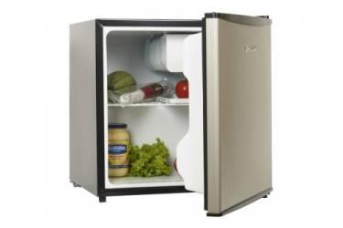 Холодильник Shivaki SHRF-55CHS серебристый/черный (однокамерный)