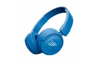 Наушники беспроводные (Bluetooth) JBL T450BT накладные с микрофоном синие