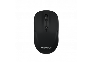 mouse CANYON 2.4Ghz wireless mice, 4 buttons, DPI 800/1200/1600, rubber coating b