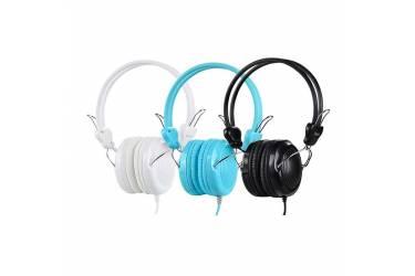 Наушники Hoco W5 Manno полноразмерные c микрофоном (синие)