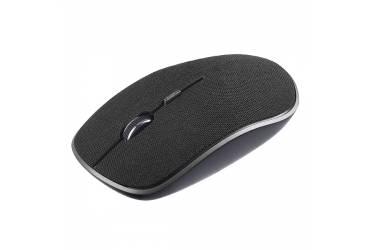 "mouse Perfeo Wireless ""FABRIC"", 4 кн, DPI 800-1600, USB, ткань тёмно-серая"