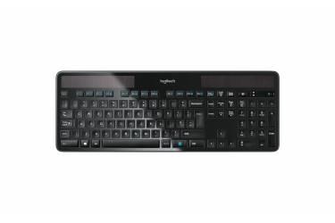 Клавиатура Logitech Keyboard K750 black wireless solar