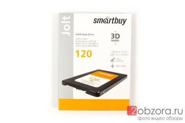 "SSD Smartbuy Jolt  2,5"" 120GB SATA3 SM2258XT 3D TLC"
