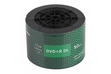 Диск DVD+R DL Intro 8,5GB 8х Shrink/50 [50/600]