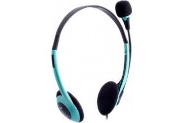 Гарнитура SmartBuy EZ-TALK MKII, рег.громк, кабель 2.0м, синяя