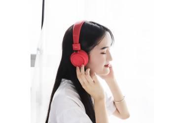 Наушники беспроводные (Bluetooth) Hoco W25 Promise wireless headphones полноразмерные (Red)