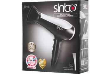 Фен Sinbo SHD 7040 2200Вт черный/серебристый
