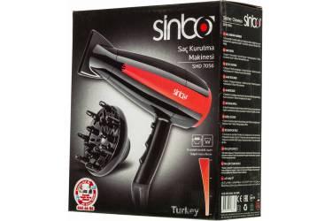 Фен Sinbo SHD 7056 2000Вт черный/красный