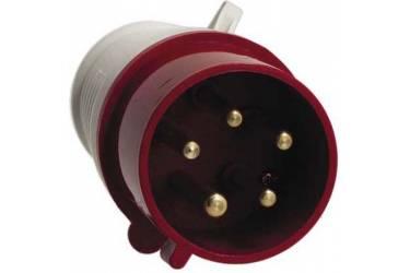Вилка переносная 014 3Р+РЕ 16А 380В IP44, Smartbuy