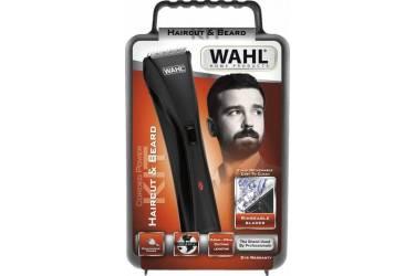 Машинка для стрижки Wahl Hybrid Clipper LED 9600 Hair & Beard черный(насадок в компл:8шт) 09699-1016