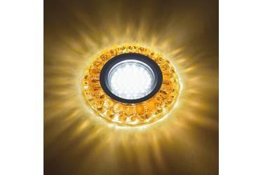 Светильник точечный Uniel DLS-L151 GU5.3 GLASSY/TEA без лампы