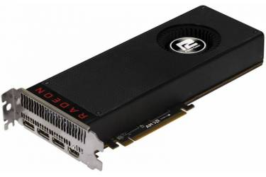 Видеокарта PowerColor PCI-E AXRX VEGA 64 8GBHBM2-3DH AMD Radeon RX Vega 64 8192Mb 2048bit HBM2 1247/945/HDMIx1/DPx3/HDCP Ret
