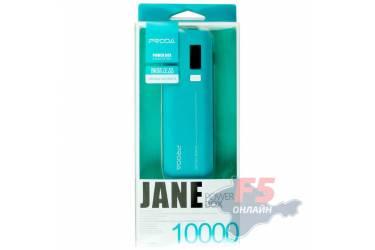 Внешний аккумулятор Proda Jane V6i 10000 mAh (green)
