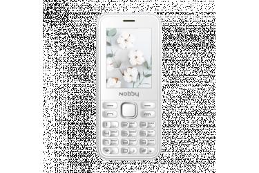 Мобильный телефон Nobby 221 белый
