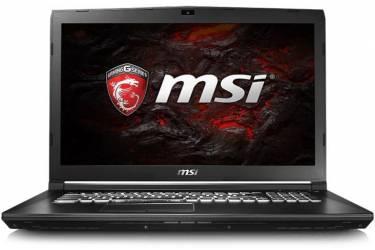 "Ноутбук MSI GP72 7RDX(Leopard)-483RU Core i7 7700HQ/8Gb/1Tb/SSD128Gb/DVD-RW/nVidia GeForce GTX 1050 2Gb/17.3""/TN/FHD (1920x1080)/Windows 10 64/black/WiFi/BT/Cam"