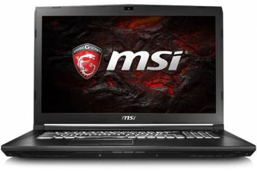 "Ноутбук MSI GP72 7RDX(Leopard)-486XRU Core i7 7700HQ/8Gb/1Tb/SSD128Gb/DVD-RW/nVidia GeForce GTX 1050 2Gb/17.3""/TN/FHD (1920x1080)/Free DOS/black/WiFi/BT/Cam"