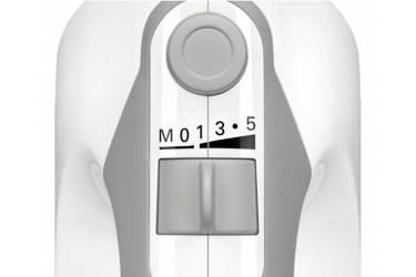 Миксер ручной Bosch MFQ 36440 450Вт белый/серый 2венчика 2 взбивалки + блендер пласт нога