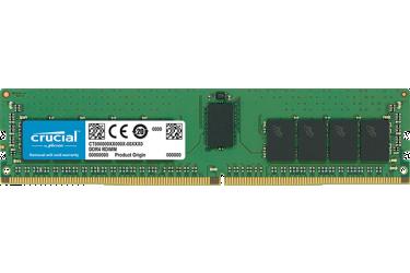Память DDR4 Crucial CT16G4RFD824A 16Gb DIMM ECC Reg PC4-19200 CL17 2400MHz