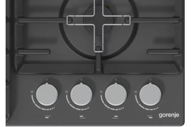 Газовая варочная поверхность Gorenje G641AMB черный