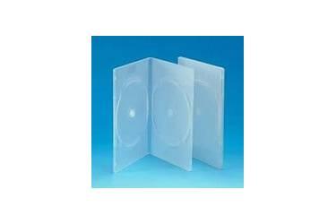 Коробка для дисков Noname DVD-box Slim 7mm двойной прозрачная