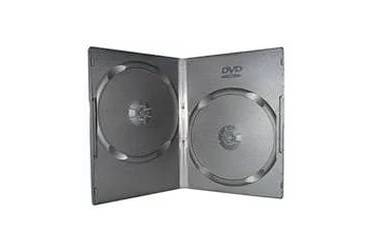 Коробка для дисков Noname DVD-box Slim 7mm двойная черная